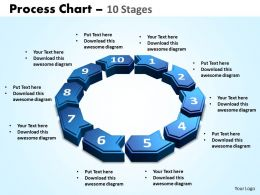 process chart 10 stages powerpoint slides and ppt templates 0412
