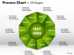 process chart 10 stages style 1 powerpoint slides and ppt templates 0412