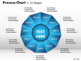 process chart 11 stages style 1 powerpoint slides and ppt templates 0412