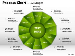 Process Chart 12 Stages Style 1