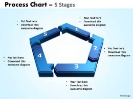 process chart 5 stages powerpoint slides and ppt templates 0412