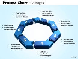 process chart 7 stages powerpoint slides and ppt templates 0412