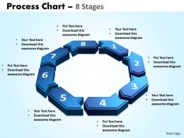 process chart 8 stages powerpoint slides and ppt templates 0412