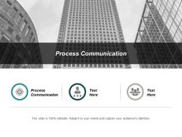 Process Communication Ppt Powerpoint Presentation Professional Summary Cpb