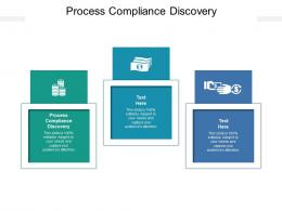 Process Compliance Discovery Ppt Powerpoint Presentation Show Ideas Cpb