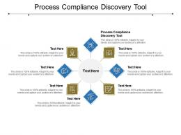 Process Compliance Discovery Tool Ppt Powerpoint Presentation Infographics Example Topics Cpb