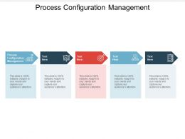Process Configuration Management Ppt Powerpoint Presentation Mockup Cpb
