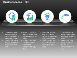 process_control_bar_graph_idea_generation_money_exchange_ppt_icons_graphics_Slide01