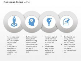 Process Control Right Idea Selection Growth Indication Ppt Icons Graphics