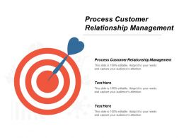 Process Customer Relationship Management Ppt Powerpoint Presentation Icon Professional Cpb