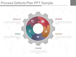 Process Defects Plan Ppt Sample