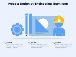 Process Design By Engineering Team Icon