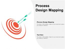 Process Design Mapping Ppt Powerpoint Presentation Inspiration Slide Portrait Cpb
