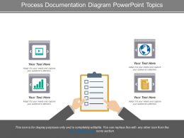 Process Documentation Diagram Powerpoint Topics