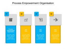 Process Empowerment Organisation Ppt Powerpoint Presentation Slides Example File Cpb