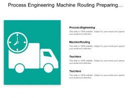 Process Engineering Machine Routing Preparing Detailed Work Established Product
