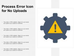 Process Error Icon For No Uploads