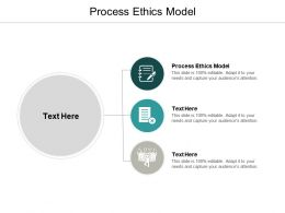 Process Ethics Model Ppt Powerpoint Presentation Professional Maker Cpb