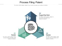 Process Filing Patent Ppt Powerpoint Presentation File Shapes Cpb