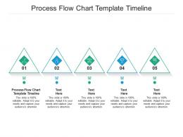 Process Flow Chart Template Timeline Ppt Powerpoint Presentation Icon Show Cpb