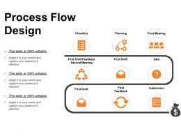 Process Flow Design Powerpoint Templates Microsoft