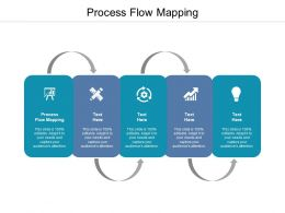 Process Flow Mapping Ppt Powerpoint Presentation Icon Elements Cpb