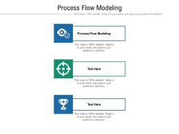Process Flow Modeling Ppt Powerpoint Presentation Inspiration Master Slide Cpb