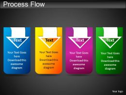 Process Flow Powerpoint Presentation Slides