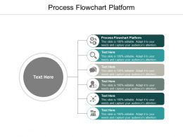 Process Flowchart Platform Ppt Powerpoint Presentation Show Example Topics Cpb