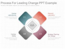 Process For Leading Change Ppt Example