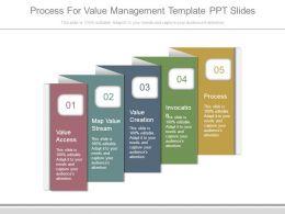 process_for_value_management_template_ppt_slides_Slide01