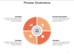 Process Governance Ppt Powerpoint Presentation Summary Ideas Cpb