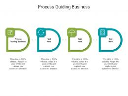 Process Guiding Business Ppt Powerpoint Presentation Inspiration Grid Cpb