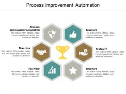 Process Improvement Automation Ppt Powerpoint Presentation Infographics Summary Cpb