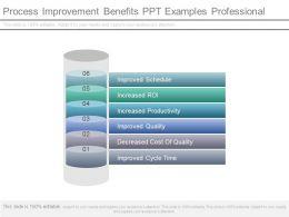 Process Improvement Benefits Ppt Examples Professional