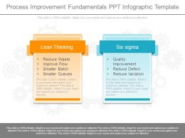 Process Improvement Fundamentals Ppt Infographic Template