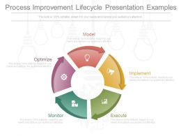 Process Improvement Lifecycle Presentation Examples