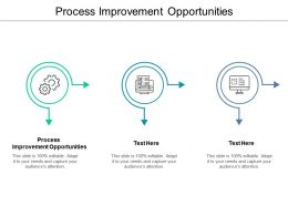 Process Improvement Opportunities Ppt Powerpoint Presentation Model Good Cpb