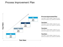 Process Improvement Plan Ppt Powerpoint Presentation Gallery Outline Cpb