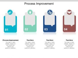 Process Improvement Ppt Powerpoint Presentation Gallery Topics Cpb