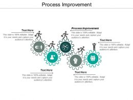 Process Improvement Ppt Powerpoint Presentation Layouts Display Cpb