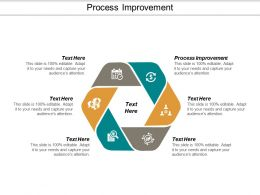 Process Improvement Ppt Powerpoint Presentation Model Display Cpb