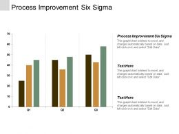 Process Improvement Six Sigma Ppt Powerpoint Presentation Inspiration Rules Cpb