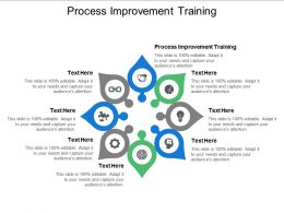 Process Improvement Training Ppt Powerpoint Presentation Visual Aids Icon Cpb