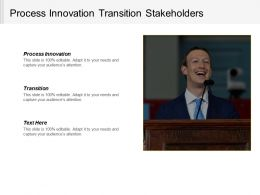 process_innovation_transition_stakeholders_company_auditing_product_consumer_cpb_Slide01