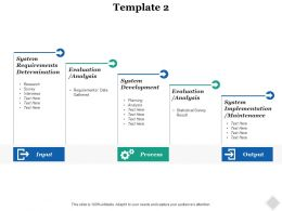 Process Inputs Ppt Inspiration Infographic Template
