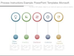 Process Instructions Example Powerpoint Templates Microsoft