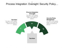 Process Integration Oversight Security Policy Management Corporate Strategic Plan