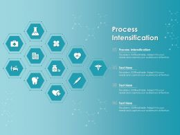 Process Intensification Ppt Powerpoint Presentation Infographic Template Layout