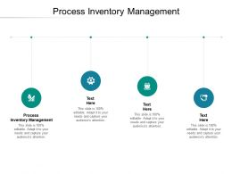 Process Inventory Management Ppt Powerpoint Presentation Infographics Master Slide Cpb